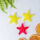 """Набор наполнителей """"Морские звёзды- 3"""" парафиновый, 10штук (красные, жёлтые), в упаковке"""