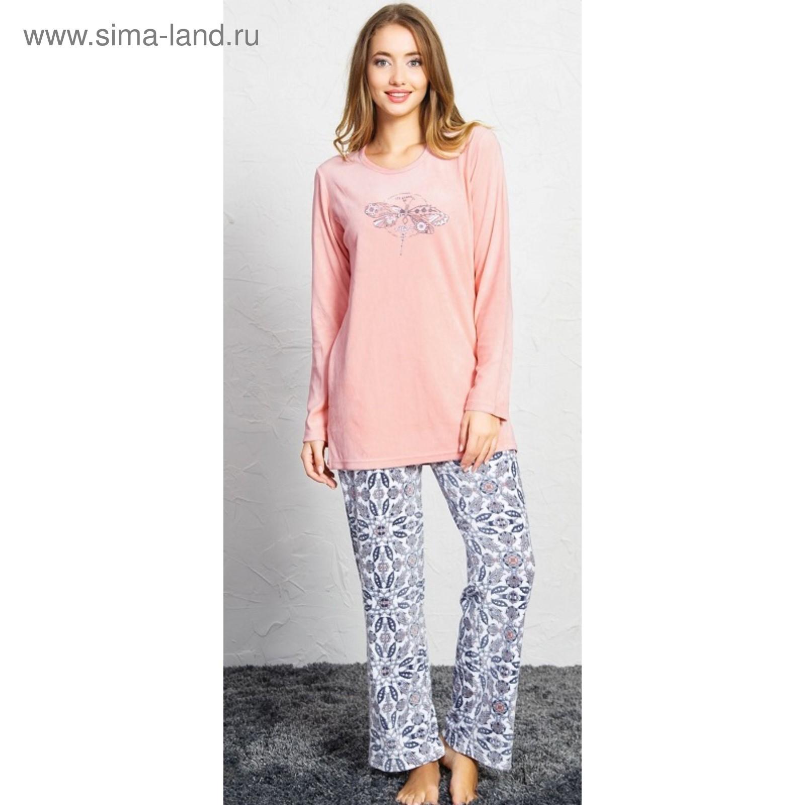 935ae37097decf9 Пижама женская «Стрекоза», размер XL, цвет розовый (4137733 ...