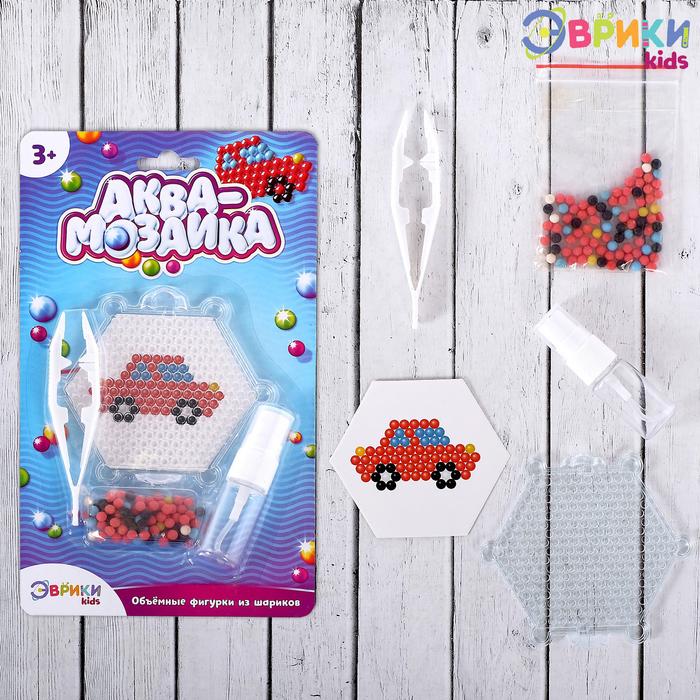 Аквамозаика для детей «Машинка» - фото 696865