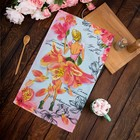 """Towel kuh """"Share"""" the Most charming 34*60 cm, matting, 100% cotton 160 gr/m"""