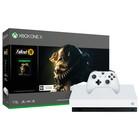 Игровая приставка Xbox One X 1Tb + Fallout 76, цвет белый