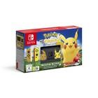 Игровая приставка Nintendo Switch + POKÉMON: LET'S GO, PIKACHU!, цвет черный-желтый