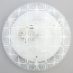"""Светильник настенно-потолочный """"Лепесток"""" 1x60Вт E27 д.25см."""