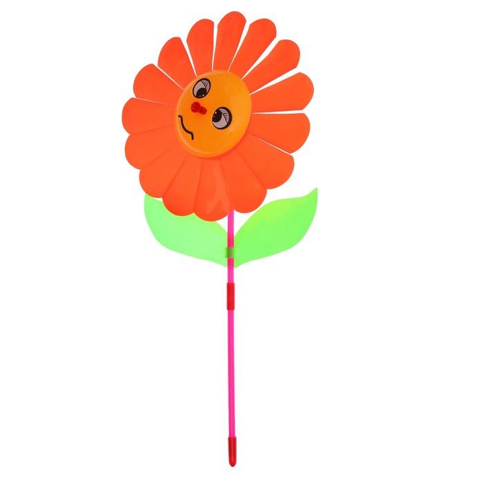 """Ветерок """"Цветок"""", цвет оранжевый - фото 536625254"""