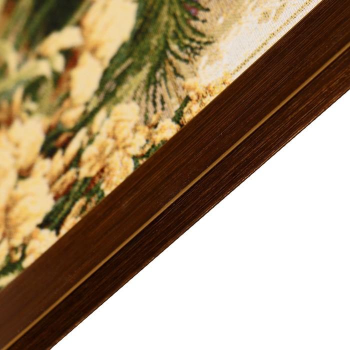 """Гобеленовая картина """"Павлины и голуби"""" 55х110 см"""
