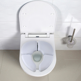 Сиденье для унитаза детское, складное «Комфорт», цвет белый