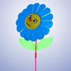 Ветерок «Цветок», цвет синий - фото 105575756