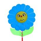 Ветерок «Цветок», цвет синий - фото 105575757