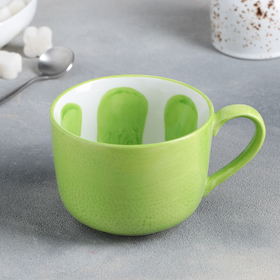 """Кружка 420 мл """"Лайм"""", цвет зелёный"""