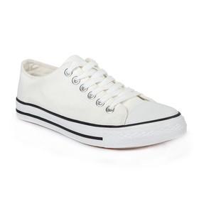 Кеды мужские, шнурки, белый, р. 41 Ош