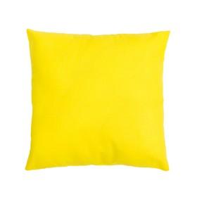 Подушка декоративная 40*40 цв. жёлтый,100% хл, поплин Ош