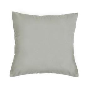 Подушка декоративная 40*40 цв. серый,100% хл, поплин Ош