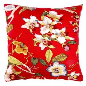 Подушка декоративная 'Collorista' Тёрн 43*43 см,цв.красный Ош