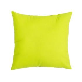 Подушка декоративная 40*40 цв. зелёный,100% хл, поплин Ош