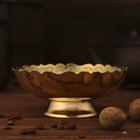 "Интерьерный сувенир ваза-фруктовница ""Чандра"""