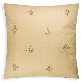 Подушка ультрастеп Овечья шерсть 70x70 см, полиэфирное волокно, пэ 100% Ош