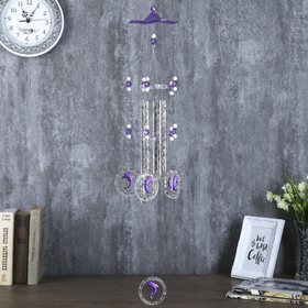 """Windchimes plastic, metal """"Dolphins in circle"""" 5 tubes of 70 cm MIX"""