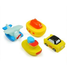 Набор игрушек для купания «Транспорт»
