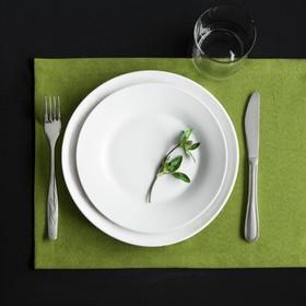 Комплект салфеток «Ибица», размер 28 × 43 см - 6 шт, зелёный