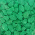Декоративная цветная крошка, зелёная, 1 л., фракция 2-5 мм.