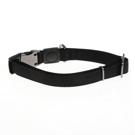 Ошейник Dogness Elegance антистатический, L, 44-69 х 2,5 см, до 42 кг, тефлон, черный