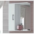 "Шкаф-зеркало ""Эко-55"" 20 х 50 х 75 см, белый левый"