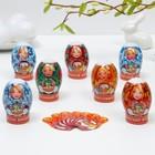 Пасхальный Набор для украшения яиц «Матрешки», 9 х 16 см