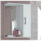 """Шкаф-зеркало """"Эко-55"""" 20 х 50 х 75 см, белый правый"""