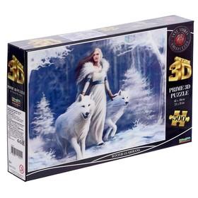 """3D puzzle 500 pieces """"Winter guardians"""""""