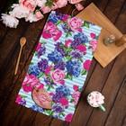 "Towel ""Share"" on March 8! 35х60±2 cm, 100% cotton, Gunny 162г/m2"