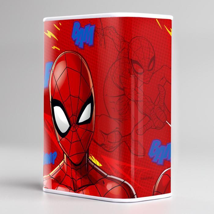 """Копилка прямоугольная """"На супер гаджеты!"""", Человек-паук"""