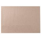 Бумага упаковочная крафт, цвет бурый, 84 х 52 см, 80г/м2