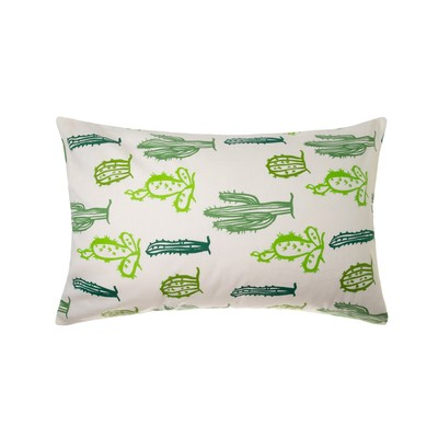 Pillowcase Ethel Cacti 50x70 ± 3 cm, 100% cotton, calico 125 g/m2