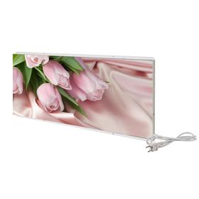 Отопительная панель СТЕП 'Розовые тюльпаны' 250/0,96х0,55 Ош