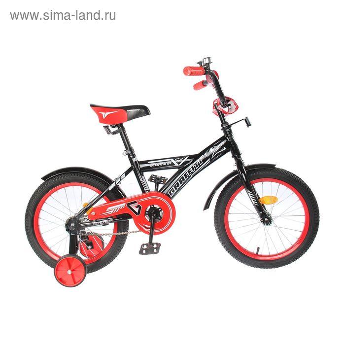 """Велосипед 16"""" Graffiti Storman RUS 2019, цвет чёрный"""