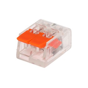 Construction and installation terminal Luazon Lighting SK-221-412, 32A, 0.2-4 mm2, 2 apertures