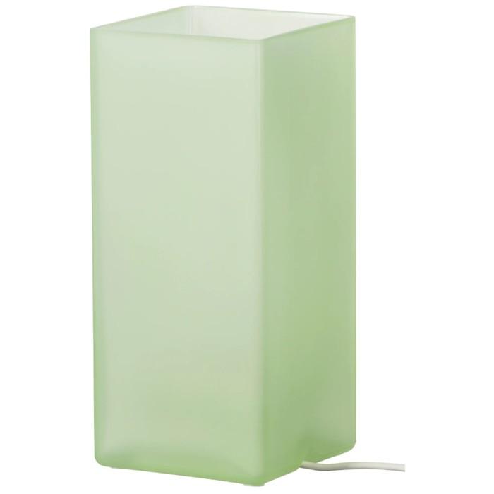 Настольная лампа ГРЁНЕ 6Вт Е14 зеленый
