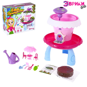 "A set of experiments for girls ""Garden Princess"""