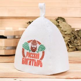 Шапка с термопринтом 'Русский богатырь' Ош