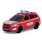Машина инерционная    Пожарная охрана Внедорожник, 29,5 см KMP 034bi
