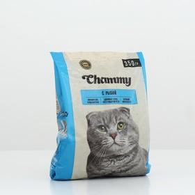 Сухой корм Chammy для кошек, рыба, 350 г Ош