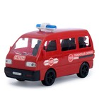 Машина инерционная  Пожарная охрана    25 см  KMP 074gi