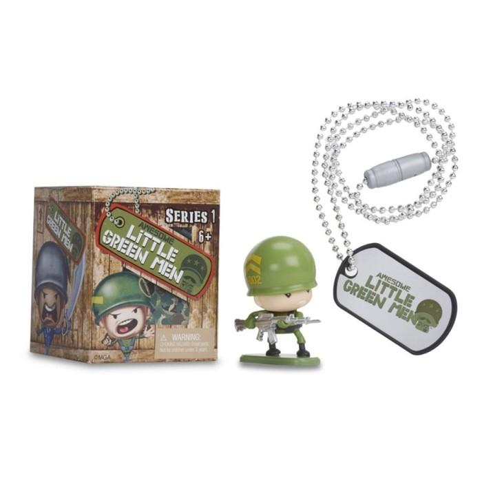 Фигурка солдата Awesome Little Green Men, 1 шт, в коробке, МИКС