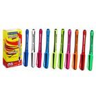 Набор ручек-роллеров Centropen Tornado Cool 4775, 10 штук, 0.3 мм, одноразовые, корпус МИКС, картонная упаковка