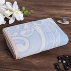 Полотенце махровое Persian silk ПЦ-2602-3531,10000 голубой 50х90 см хл100% 420 гр/м