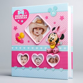 Photo album for several windows, Minnie Mouse