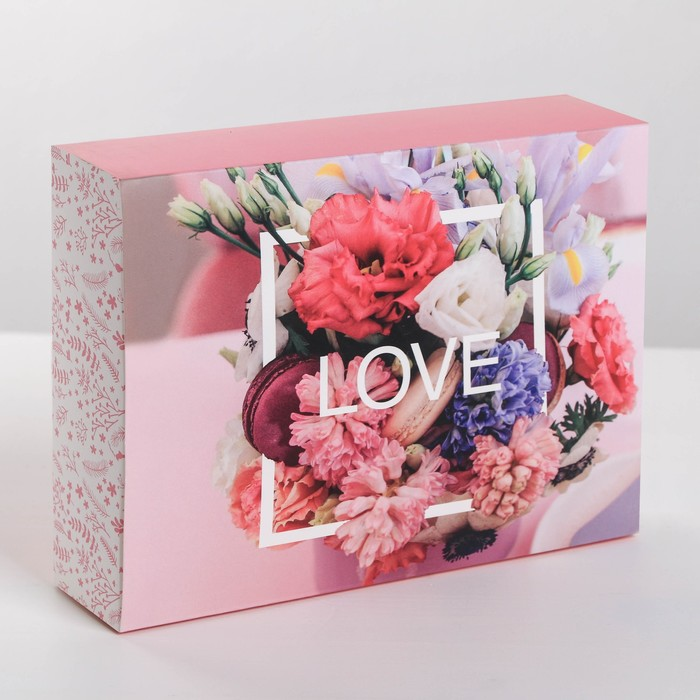 Коробка для сладостей LOVE , 20 × 15 × 5 см - фото 153130506