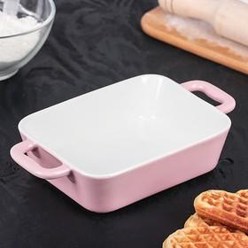 {{photo.Alt || photo.Description || 'Форма для запекания Доляна «Долли», 21,5×12 см, цвет розовый'}}