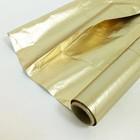 Полисилк двухцветный, цвет матовое золото + маитовое золото, 1 х 50 м
