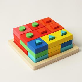 Пирамидка логическая «Тренируем логику»